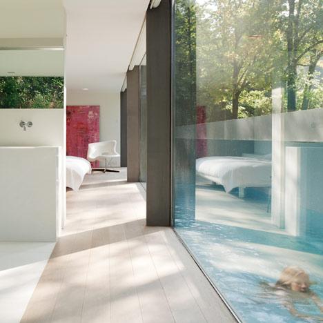 House homme villa roces by govaert vanhoutte for Bieke vanhoutte interieur